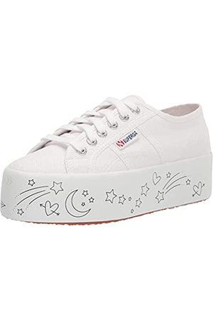 Superga Damen 2790-PRINTED Platform Sneaker, /Mehrfarbig