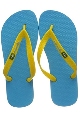 Ipanema Classic Brasil II Kids Zehentrenner, Blue/Yellow