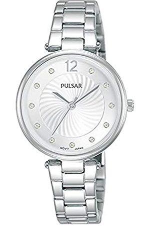 Pulsar Damen Analog Quarz Uhr mit Metall Armband PH8489X1