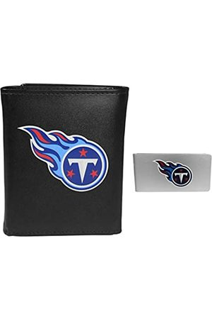 Siskiyou Sports NFL Tennessee Titans Herren Geldbörse mit Geldclip, dreifach faltbar