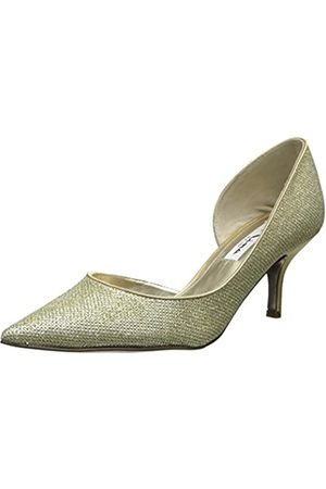 NINA Damen Brydie YF Kleid Pumpe, Gold (Platin)