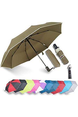 IXINU Winddichter kompakter Reise-Regenschirm – Factory Outlet (Gr�n) - COG010