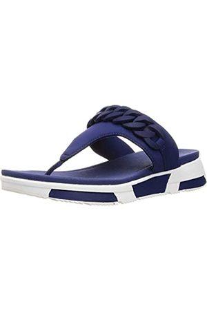 FitFlop Damen Heda Chain Toe-Thongs Sandalen, (Midnight Navy 399)