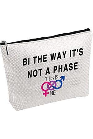 Generic Kosmetiktasche für Bisexuelles Geschenk, violett, blau, pink
