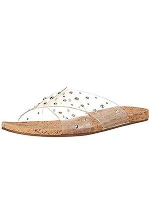 Jessica Simpson Damen Tislie Flat Slide Schiebe-Sandalen