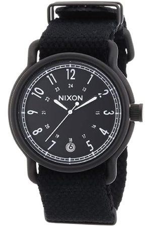 Nixon Herren-Armbanduhr XL The Axe All Nylon Analog Quarz A3221148-00