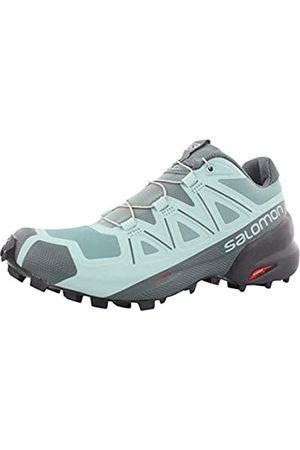 Salomon Women's Speedcross 5 W Trail Running Shoe, Trellis/Stormy Weather/Phantom