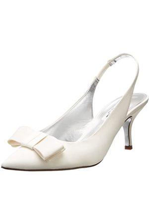NINA Damen Beatrix-LS Dress Pump, Weiß (elfenbeinfarben)