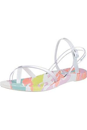 Ipanema Damen Fashion Sand IX Fem Sandale, White/Clear/pink