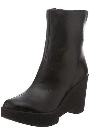 Robert Clergerie Damen Crazy Ankle Boot, Schwarz (Schwarzer Nappa)