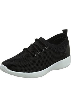 New Look Damen 5687588 Sneaker, (Black 1)