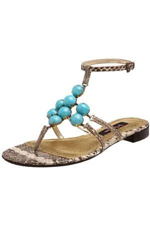 NINA Delphi Sandalen für Damen, Mehrere (Zebra)