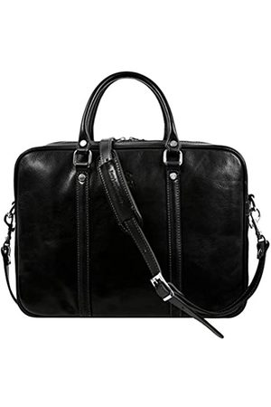 Time Resistance Leder Aktentasche Herren 13 in Laptoptasche Arbeitstasche Bürotasche Ledertasche Aktentasche Umhängetasche Lehrertasche Businesstasche