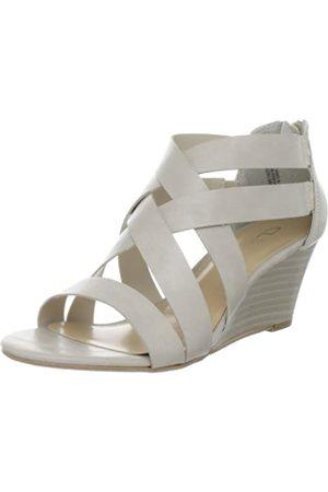 CL by Chinese Laundry Damen Schatz-Sandalen mit Keilabsatz, Elfenbein (gebrochenes )