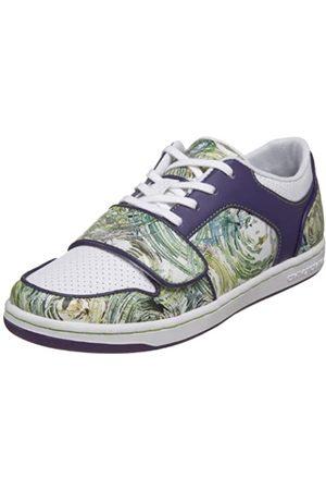 Creative Recreation Damen Cesario Lo Low-Top Sneaker, Weiß (Lackiertes Leder)