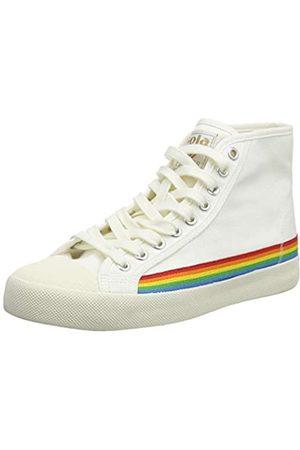 Gola Damen Bullet Floral Sneaker, Off White/Multi