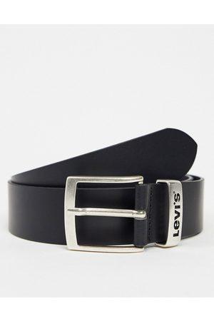 Levi's Herren Gürtel - Levi's – New Ashland – Gürtel aus schwarzem Leder