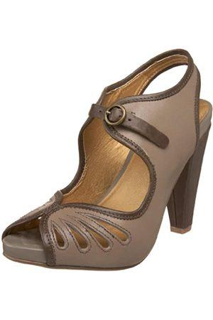 Seychelles Lauren Peep-Toe Pumps für Damen, Grau (hellgrau)