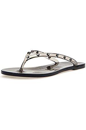 Katy perry Damen The Geli Gem Crystal Embellished Thong Sandal Flipflop/Rauch