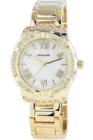 Excellanc Damen-Armbanduhr Analog Quarz Verschiedene Materialien 150802000031