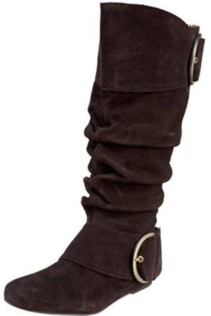 NAUGHTY MONKEY Damen Cool For School Boot, Braun (schokoladenbraun)