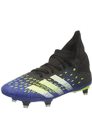 adidas Predator Freak .3 SG Soccer Shoe, Core Black/Cloud White/Solar Yellow