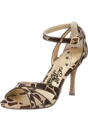 NAUGHTY MONKEY Jungle Fever Sandalen für Damen, Mehrere (Giraffe)
