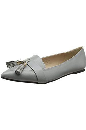 Dorothy Perkins Damen Lisa Slipper, (Grey 150)