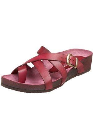 Cordani Damen Scarlett Sandale auf Kork-Fußbett, Rot (Himbeere)