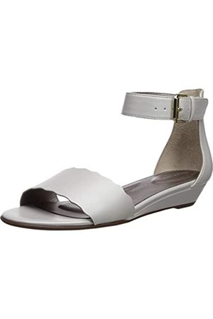 Rockport Damen Tm Zandra Curve ANK Keilabsatz Sandale, Weiá