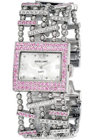 Excellanc Damen-Uhren mit Metallband 152022400021