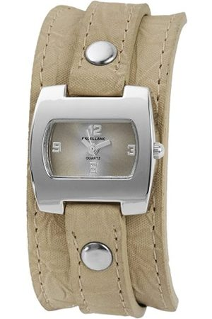 Excellanc Damen-Uhren mit Polyurethan Lederband 192127000007