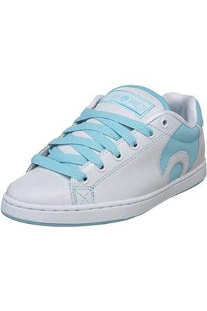 Osiris Troma Icon 22111072, Damen Sneaker, (White/Blue)