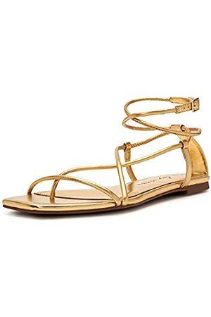 Katy perry Damen The Luv Flat Metallic Nappa Flache Sandale