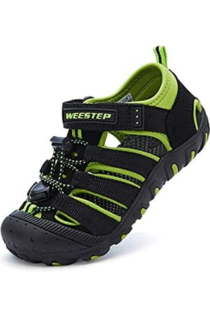 Weestep Boys and Girls Closed Toe Quick Dry Beach Hiking Sandal(1 Little Kid