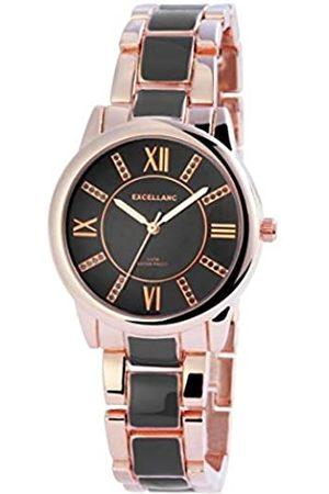 Excellanc Damen Analog Quarz Uhr mit Verschiedene Materialien Armband 150831000026