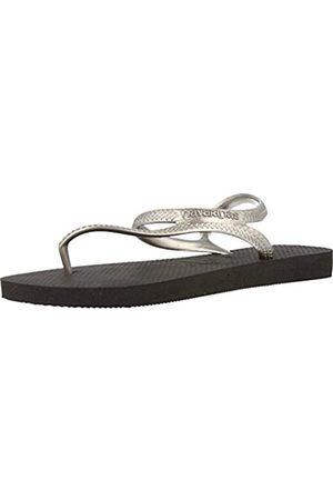 Havaianas Damen Flash Urban Sandalen, Mehrfarbig (Black/Silver)