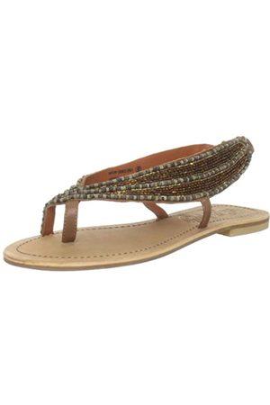NAUGHTY MONKEY Damen Universal Traveler Thong Sandale, (hautfarben)