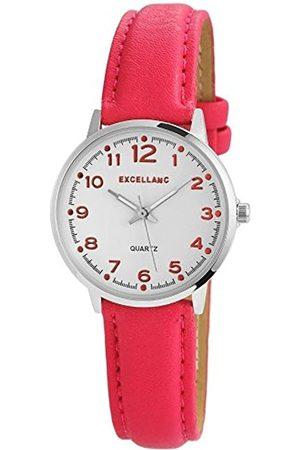 Excellanc Damen Analog Quarz Uhr mit Verschiedene Materialien Armband 195025500172
