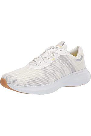 Cole Haan Damen Zerogrand OUTPACE Runner II Laufschuh, Weißes Mesh/Cybergelbe Ziernaht/weiße Zwischensohle/Gummi-Außensohle