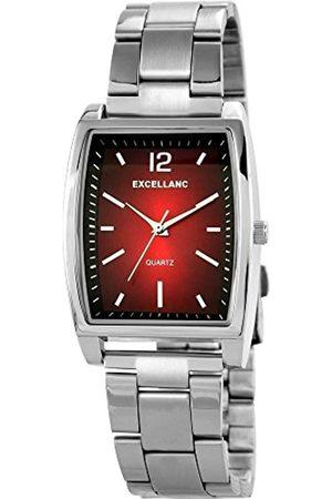 Excellanc Herren Analog Quarz Uhr mit Verschiedene Materialien Armband 284321100008