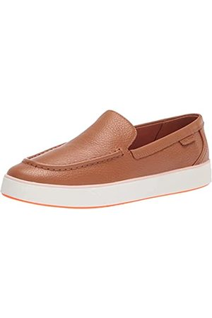 Cole Haan Damen Pecan Grainy Leather/Clay Slipper, Pekannusleder/Ton Pink Paintline