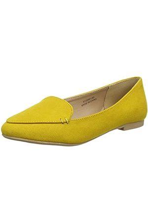 New Look Damen Juggle Slipper, (Bright Yellow 85)