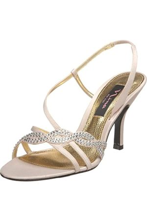 NINA Gathi Sandalen für Damen, Beige (Pudersand)