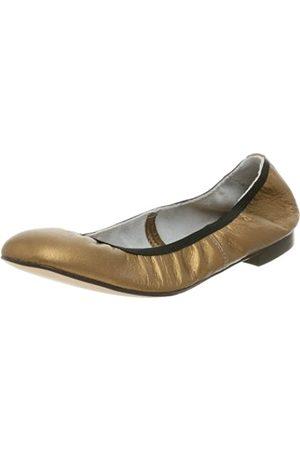 Kenneth Cole New York Damen Ballett Block Flach, Gold (Bronze)