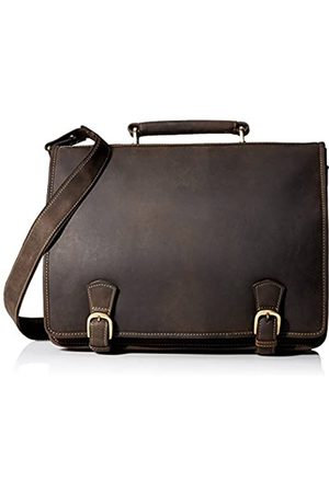 Visconti Hulk Full Flap Business Twin Compartment Briefcase
