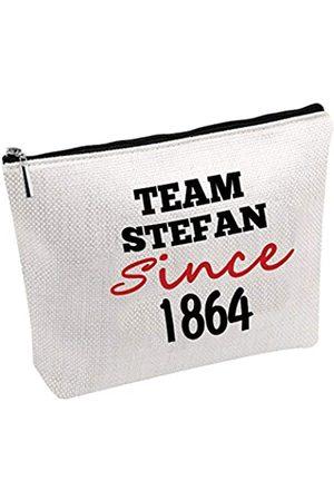 Generic Kosmetiktasche Team Damon / Stefan / Salvatore Since 1864, Vampir-Fandom