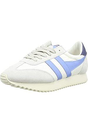 Gola Damen Boston 78 Sneaker, Off White/Vista Blue/Navy