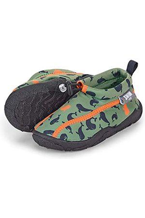Sterntaler Baby - Jungen Aqua-Schuhe mit Gummizug und rutschfester Sohle, Farbe:, Größe: 25/26, Alter: 3-4 Jahre