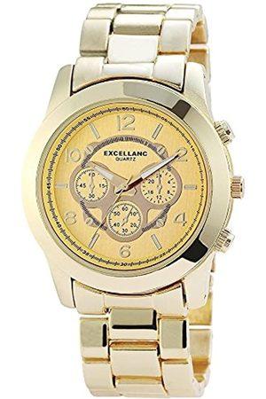 Excellanc Damen-Armbanduhr XL Analog Quarz Verschiedene Materialien 150804000009